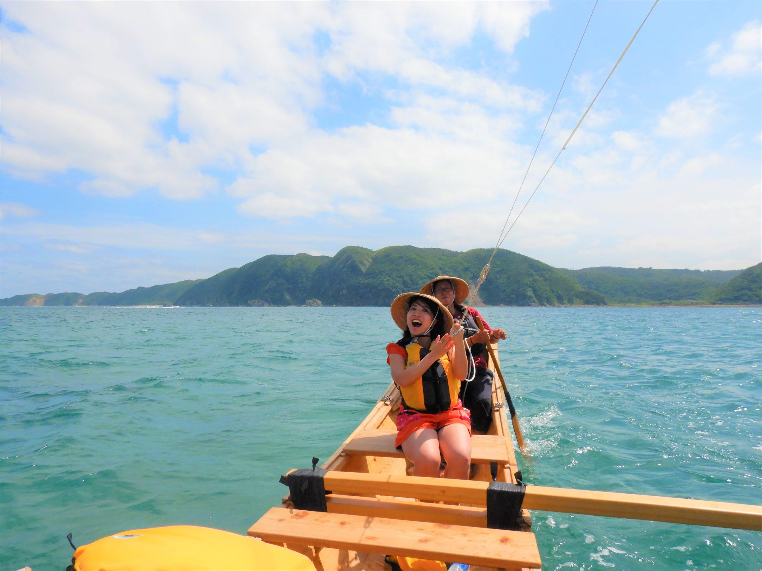 帆かけサバニ