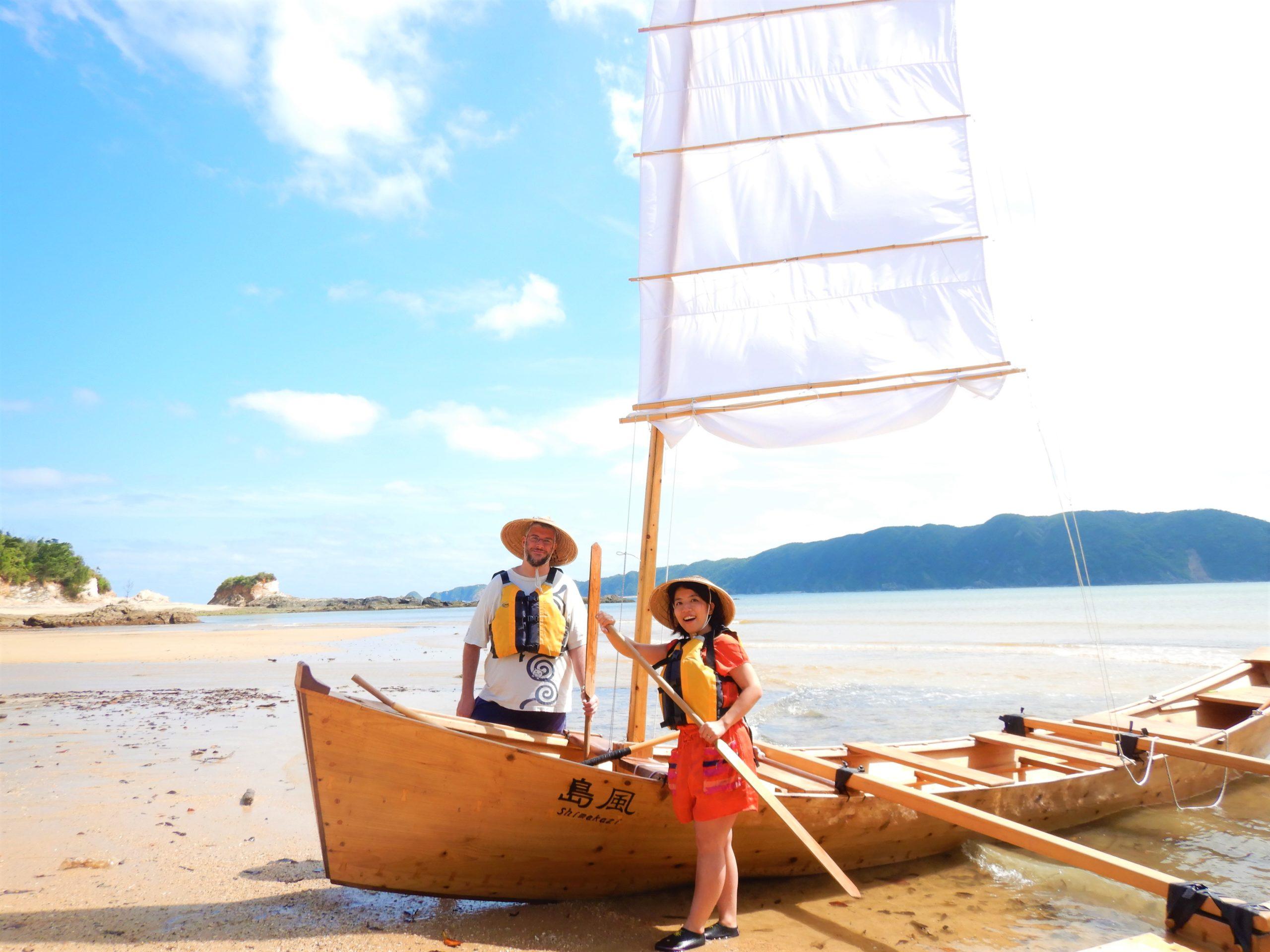 帆かけサバニツアー